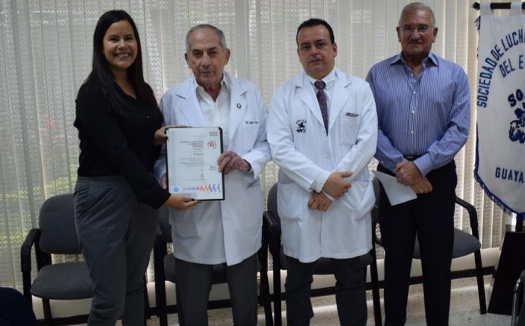 SOLCA recibe certificación ISO 9001