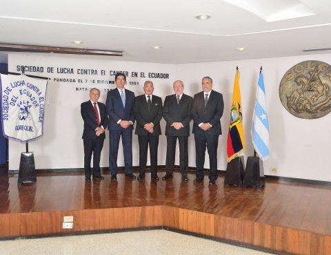 Consejo Directivo Nacional SOLCA 2018