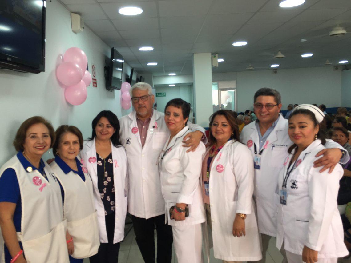 Lucha contra el cancer de mama. SOLCA Matriz Guayaquil